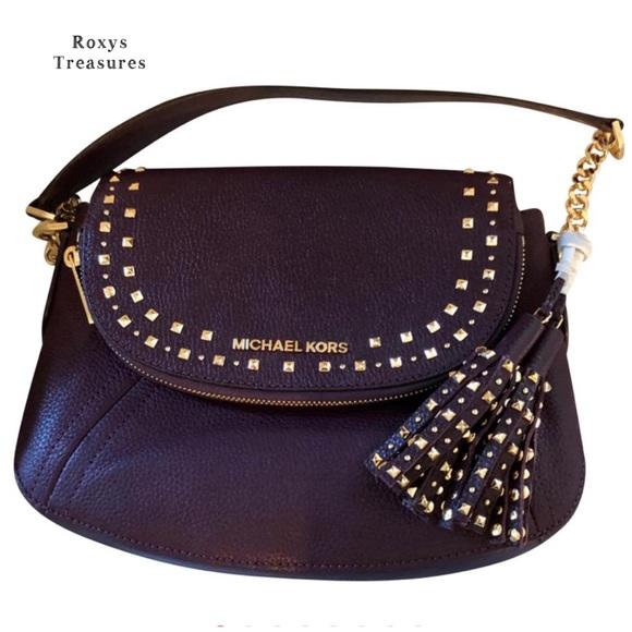 577ec66b6453 Michael Kors Bags   Aria Multi Wear Bag In Damson   Poshmark